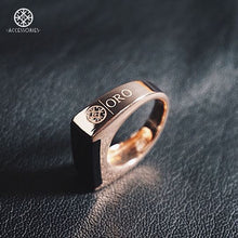 Load image into Gallery viewer, The Cremello (Rose Gold) x Onyx Stone