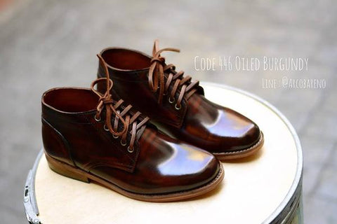 446 oiled Burgundy