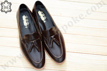 Load image into Gallery viewer, 503 Tassel Loafer Dark Brown