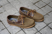 Load image into Gallery viewer, 825 Boat Shoe - Khaki Nubuck