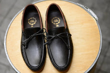 Load image into Gallery viewer, 821 Lace Loafer Black + Brown