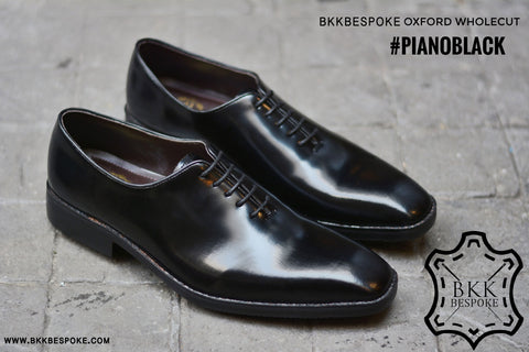 502-2 New Oxford Wholecut Black Shoes