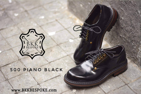 500 Derby Shoe - Black