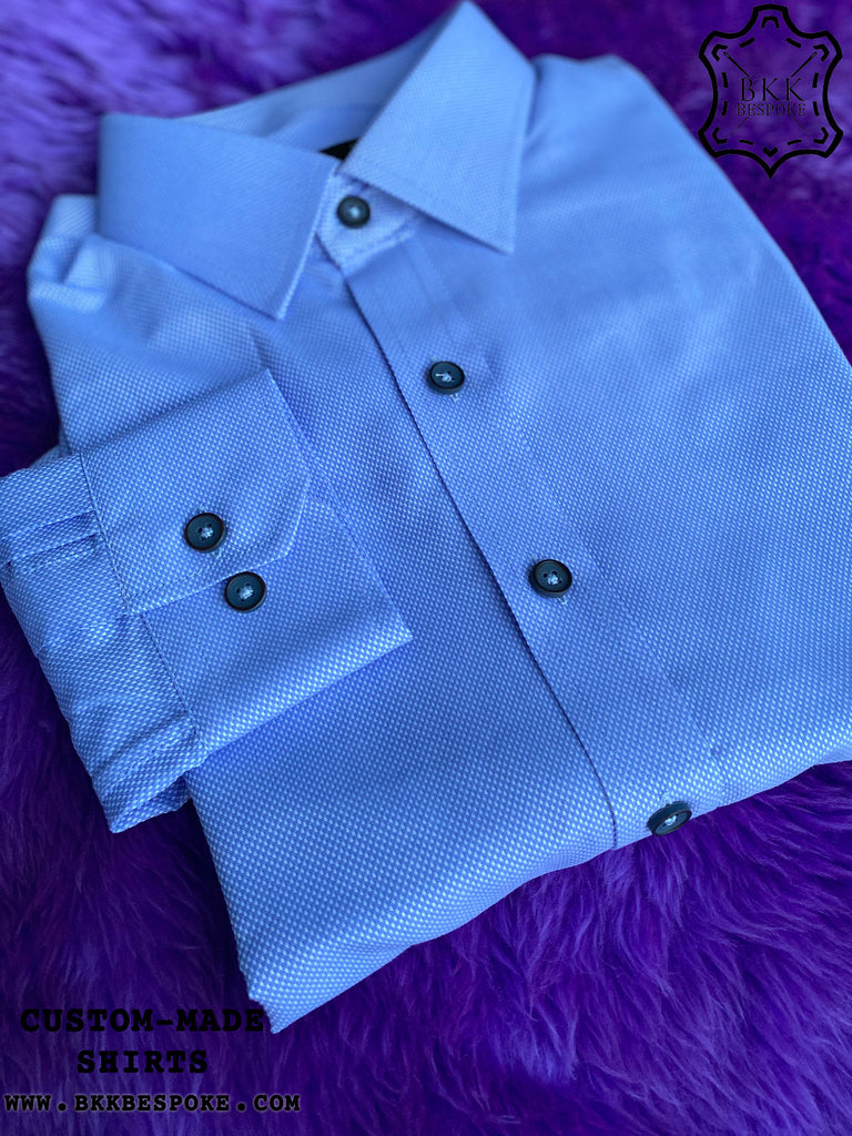 Blue Bird Eyes Shirt - Silver Quality