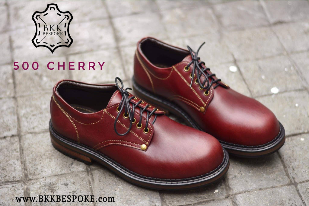 500 Derby Shoe - Cherry