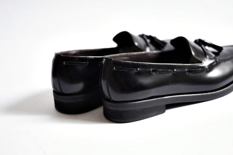 503 Tassel Loafer Black - Rubber Base