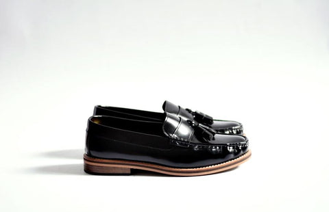 501 Tassel Loafer Black