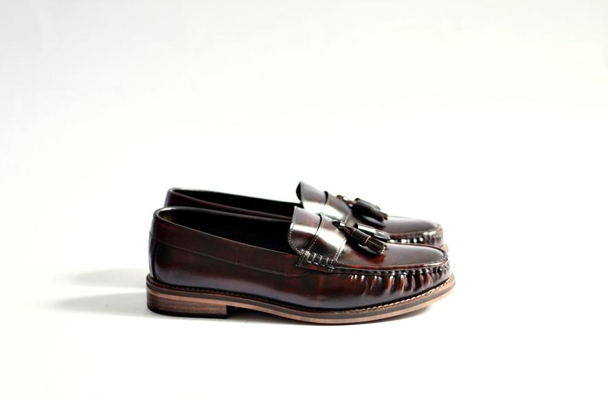 501 Tassel Loafer Burgundy