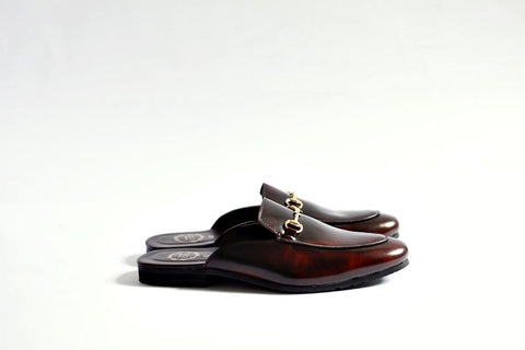 701 Slipper Burgundy
