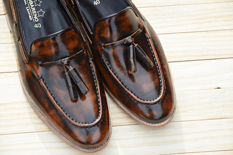 503 Tassel Loafer Burgundy