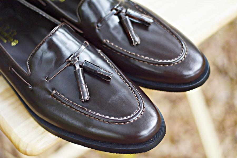 503 Tassel Loafer Dark Brown-Black