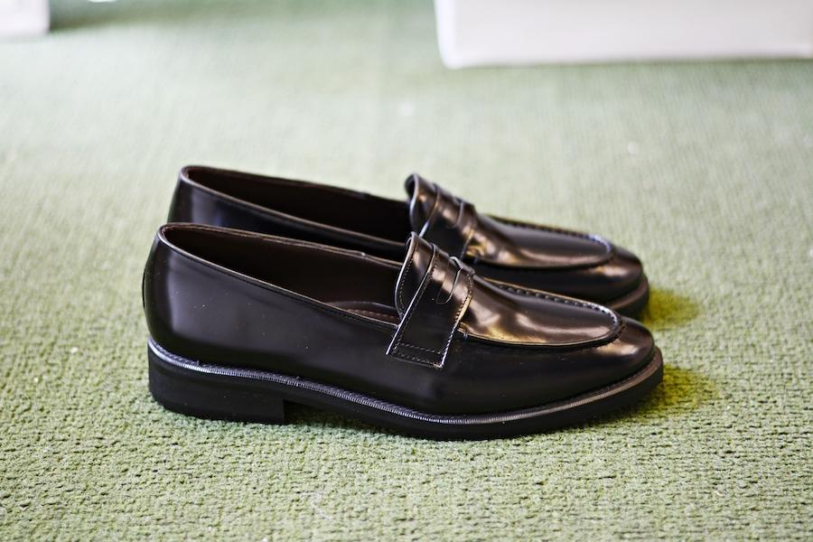 509 Penny Loafer Black