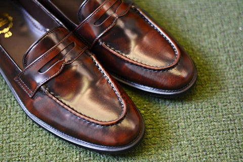 509 Penny Loafer Burgundy