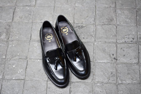 503 Tassel Loafer Black-Black