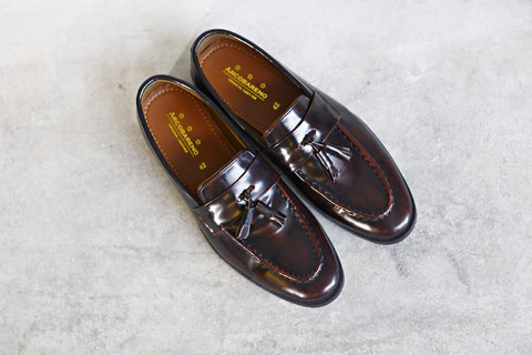 505 Tassel Loafer Burgundy