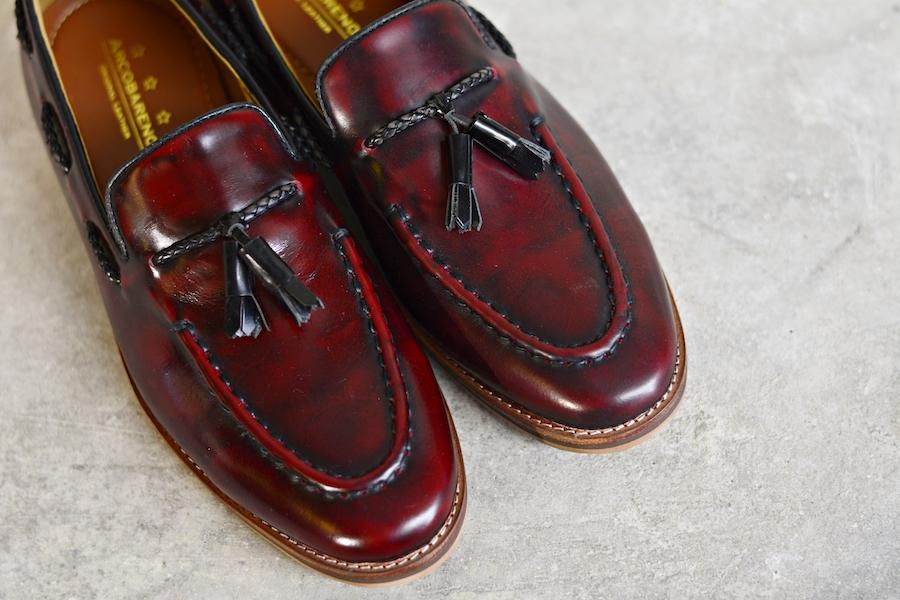 503 Tassel Loafer Cherry