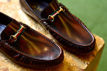 Load image into Gallery viewer, 823-3 Loafer X Princetown Burgundy