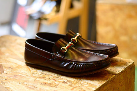 823-3 Loafer X Princetown Burgundy