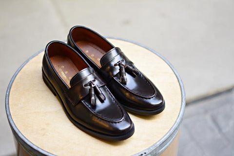 505 Tassel Loafer Dark Brown