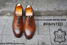 Load image into Gallery viewer, 502-1 Painted Classic Wholecut Oxford