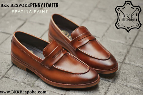 509 Penny Loafer Whisky Patina Paint