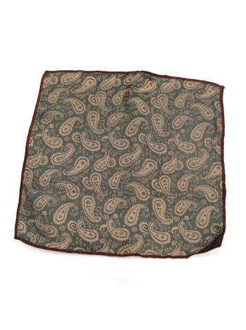 Brown Small Paisley