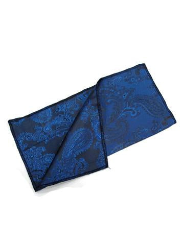 Bright Blue Large Paisley
