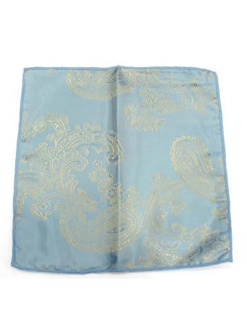 Light Blue Large Paisley