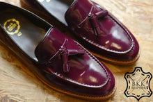 Load image into Gallery viewer, 505 Tassel Loafer Purple - Wooden Sole