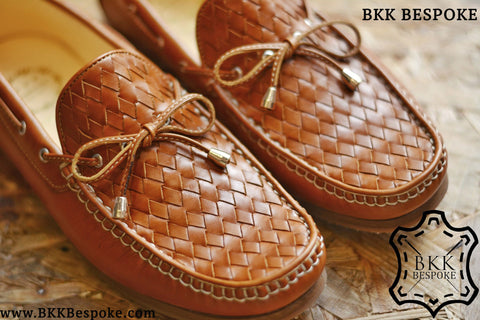 Woven Whisky Loafers