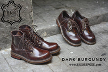 Load image into Gallery viewer, 500 Derby Shoe - Burgundy - Hi-Cut