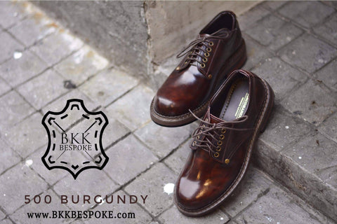500 Derby Shoe - Burgundy