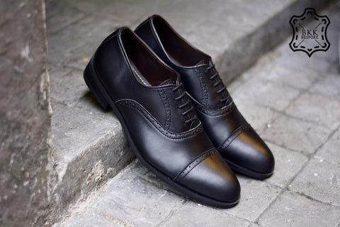 507-1 Brogue Shoe Matte Black