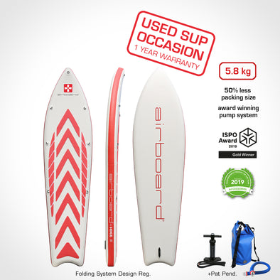 Airboard HIKE Ultralight Red 9'9'' - Occasion