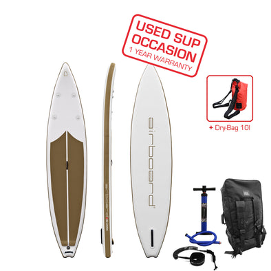 Airboard SHARK Light Gold 12'6'' - Occasion