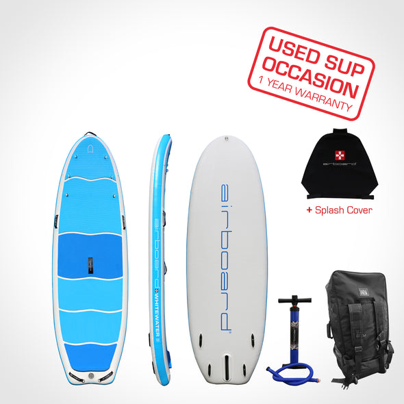 Airboard WHITEWATER Small 8'6'' - Occasion