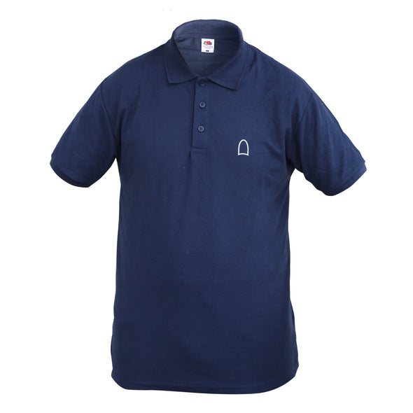 Polo Shirt Men Dark Blue