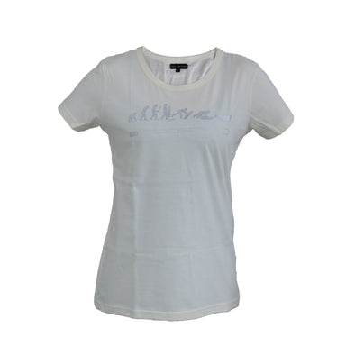 T-Shirt NEW Evolution Lady White