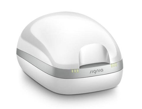 Signia / Siemens New Inductive Hearing Aid Charger Closed Lid