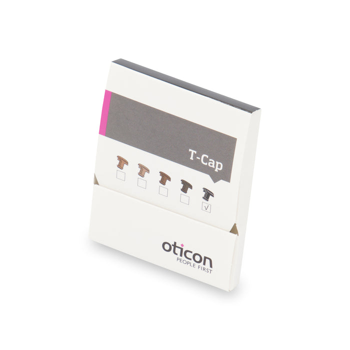 Oticon Black T-Cap mic protection filter.