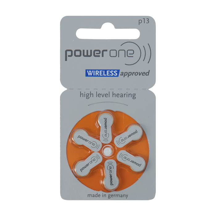 Power One p13 Wireless Approved Hearing Aid Battery