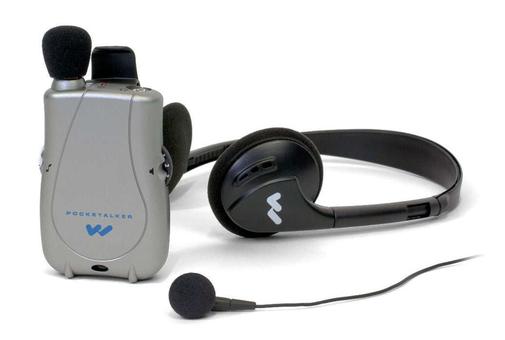 Williams Sound PocketTalker Ultra with Single Minibud and Headset