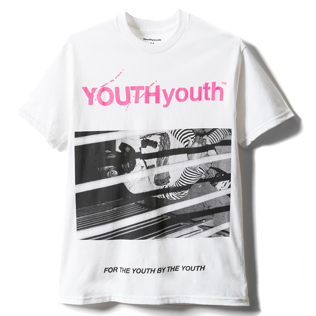 YOUTH WORLD short sleeve T-shirt - White