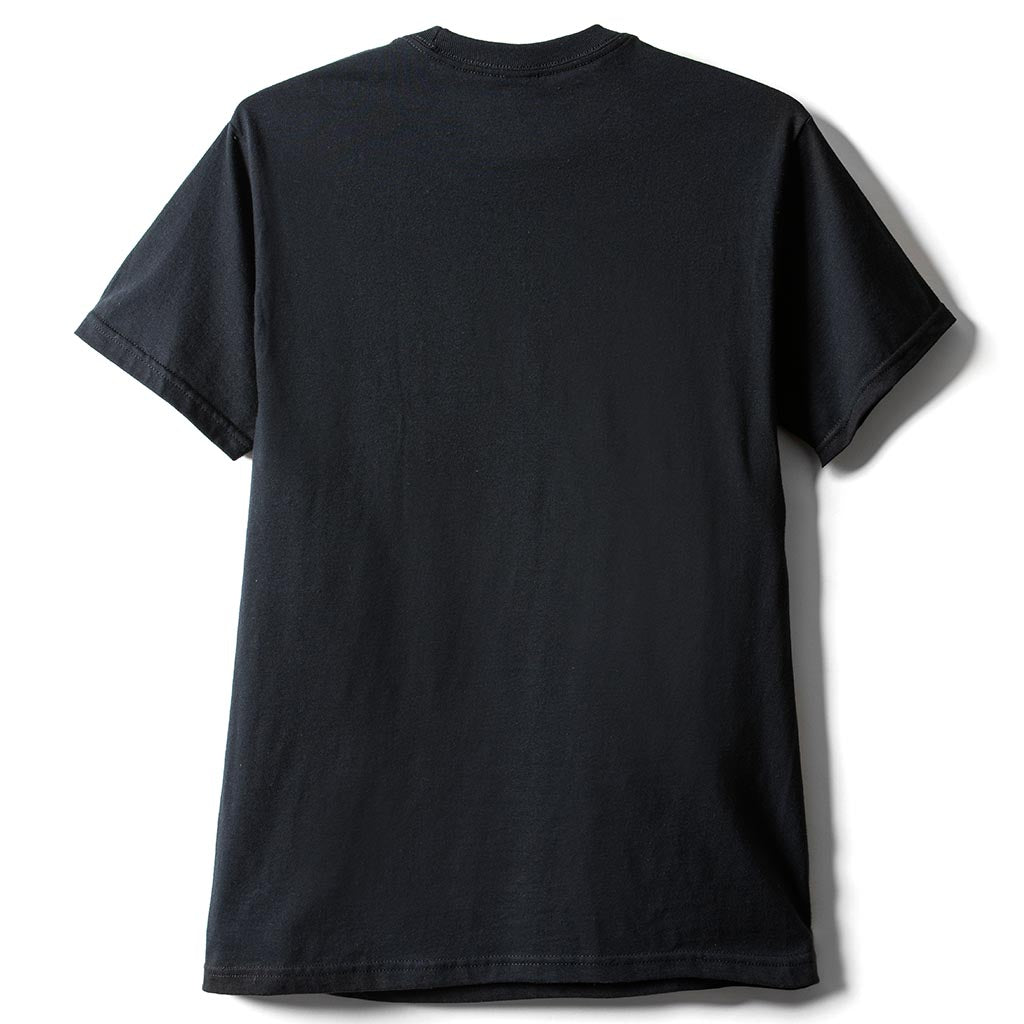 Youthyouth x Open Studios Japan present YOUTH WORLD short sleeve T-shirt - Black (Back)