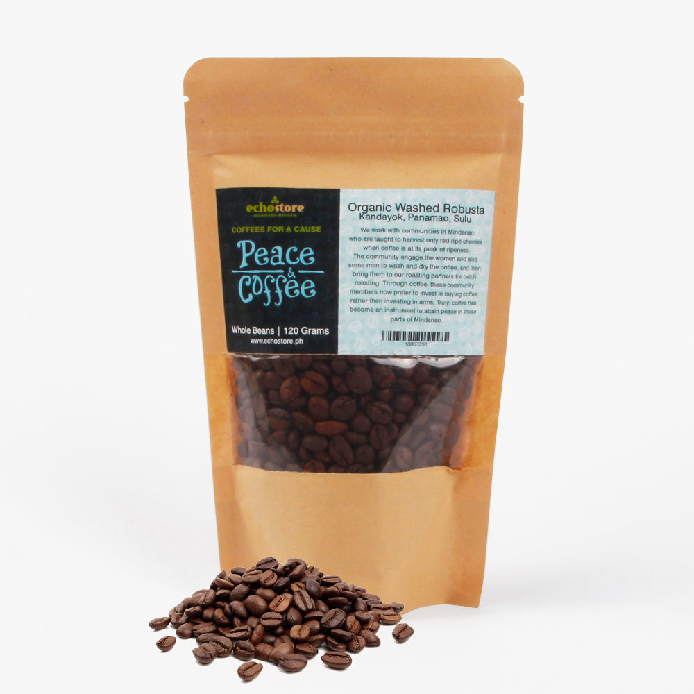 Peace & Coffee 120g In Robusta