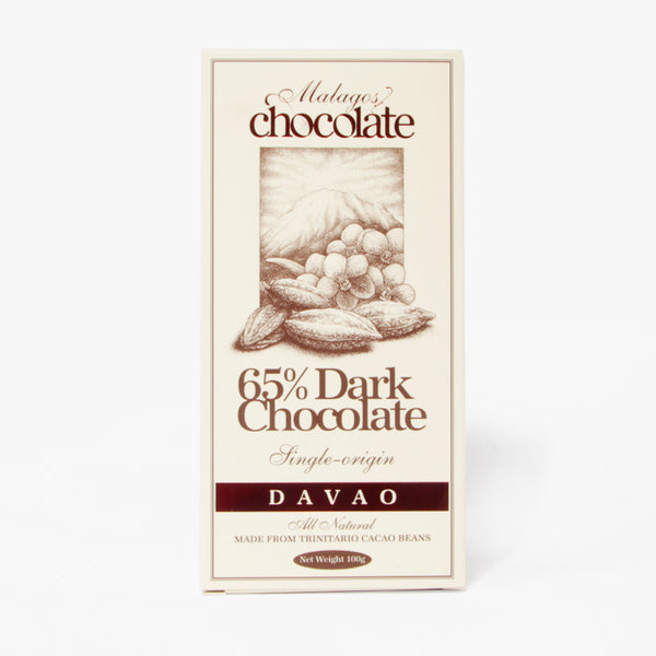 Malagos 65% Dark Chocolate 100g