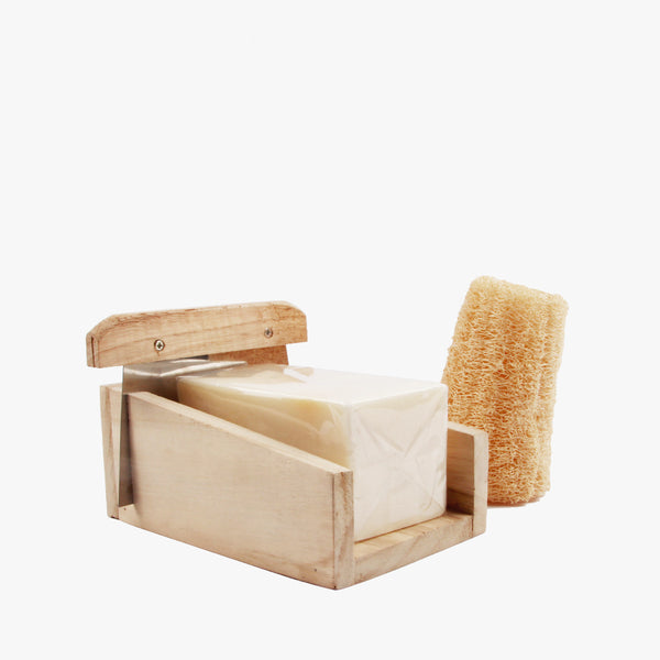 Soap Block 500g w/ Loofah