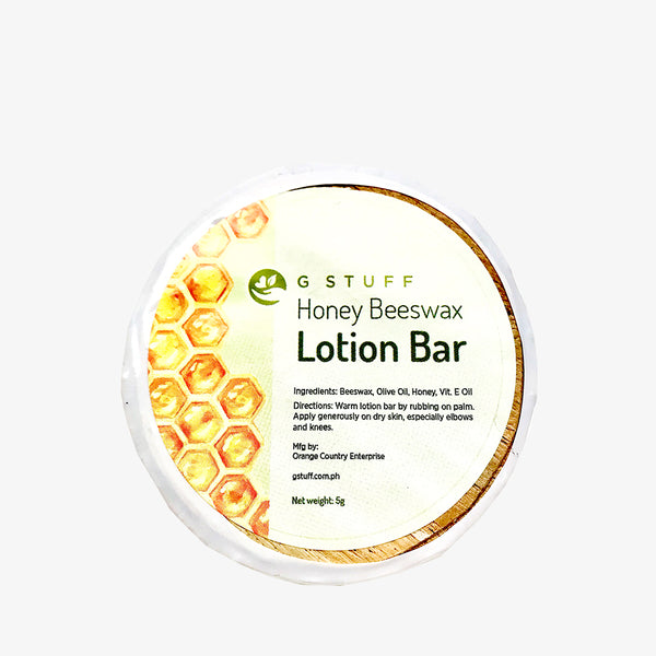 Honey Beeswax Lotion Bar 5g