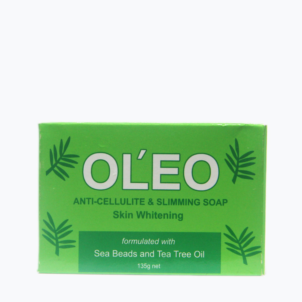 Oleo Slimming & Anti-Cellulite Whitening Soap with Sea Minerals