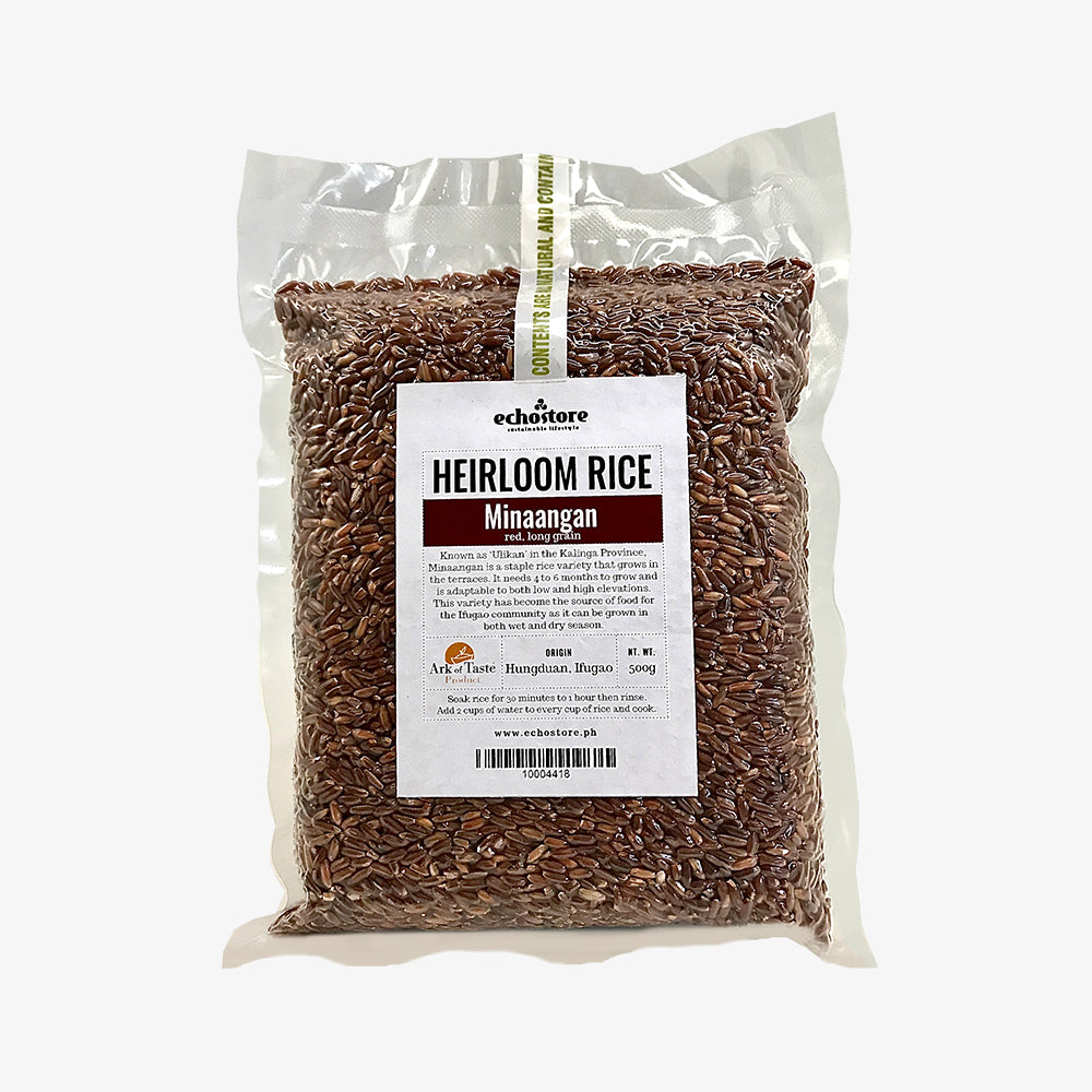 Heirloom Rice Minaangan 500g
